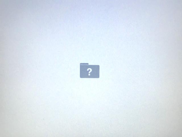 Mac Book ProにOS Xを再インストールする方法1
